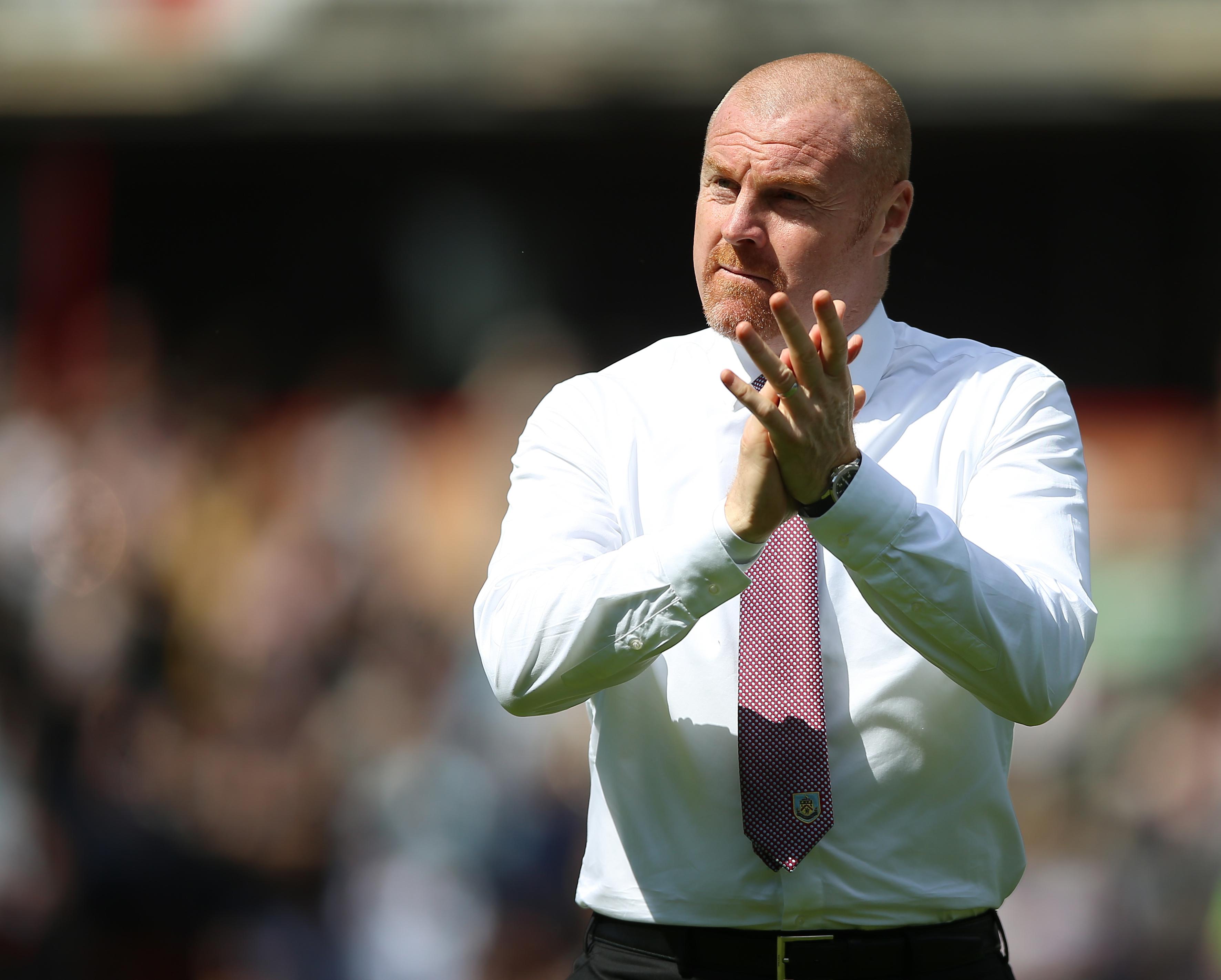 Sean Dyche, Burnley'nin başında üst üste dördüncü Premier Lig sezonuna başlıyor.