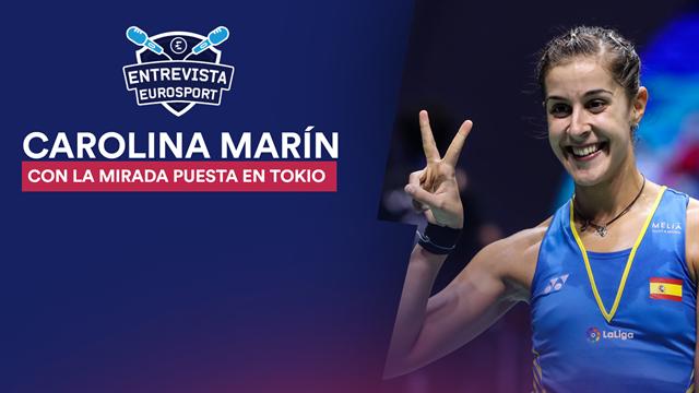 """Carolina Marín, en Eurosport: """"Volveré más fuerte que antes"""""""
