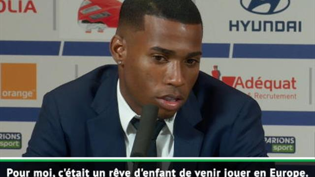 """Lyon - Jean Lucas : """"Un rêve d'enfant de venir jouer en Europe et en France"""""""