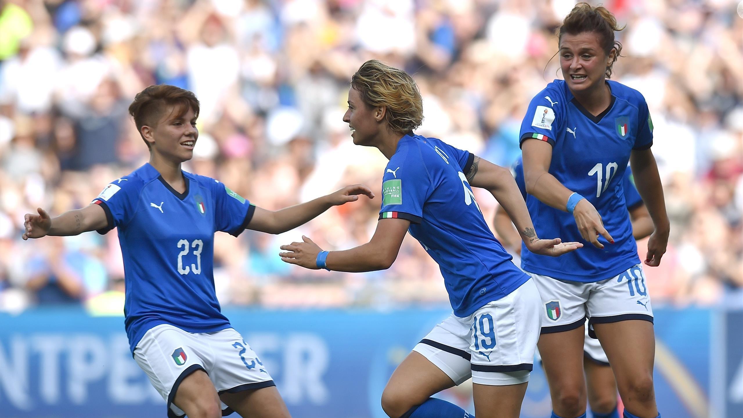 Italia Cina In Diretta Tv E Live Streaming Mondiali Femminili 2019 Calcio Eurosport