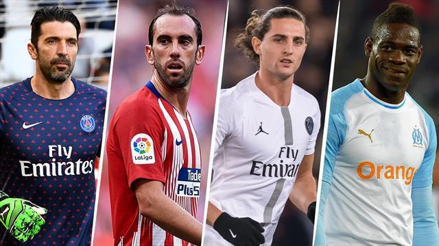 Godin, Rabiot, Balotelli… Le onze des joueurs libres ou cette équipe de jeu vidéo
