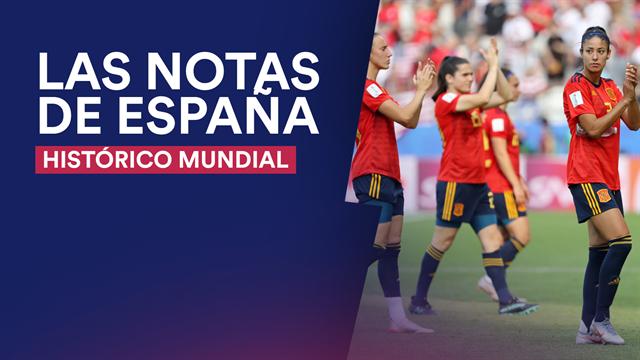Las notas de España tras su histórico Mundial femenino