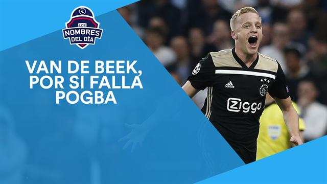 Van de Beek, Neymar, Mourinho, Dembélé y Buffon, los nombres del día