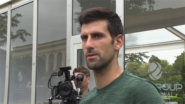 Djokovic 'surprised' by Federer's high seeding at Wimbledon