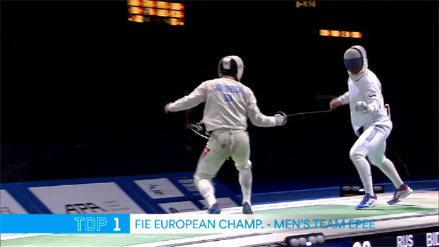 Top 5: Moments from FIE European Championships