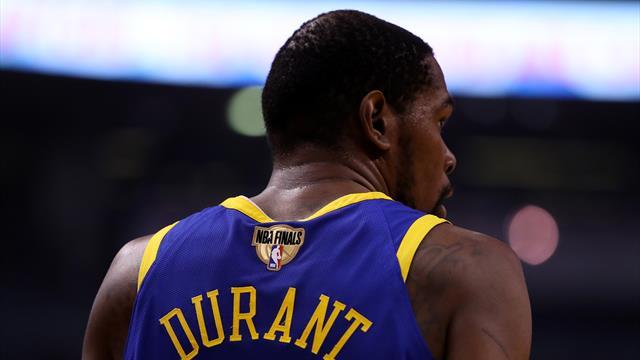 Séisme en NBA : Durant sera bien agent libre