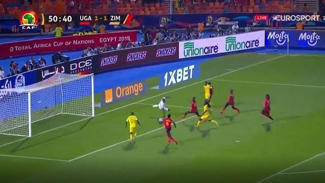 Copa África 2019: ¡Era mucho más fácil meterlo que fallarlo! El increíble fallo de Musona ante Ugand