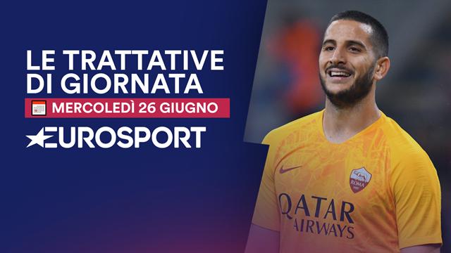 Da Manolas al Napoli a Inter-Lazaro: la giornata di calciomercato in 1 minuto