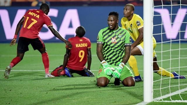 Copa África 2019, Uganda-Zimbabue: Un empate lleno de fallos, locura y jugadas surrealistas (1-1)