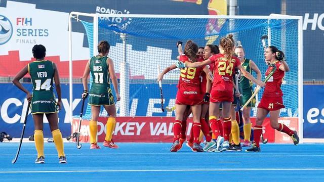 España bate a Sudáfrica por la mínima y estará en el preolímpico de Tokio