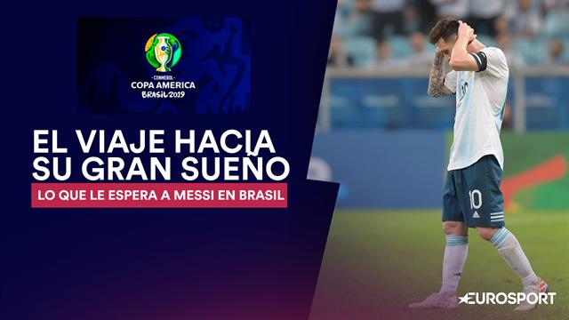 El camino que le espera a Messi para ganar en Brasil su primer título con la albiceleste