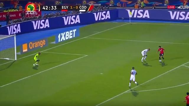 El golazo con el que Salah se estrenó en su Copa África