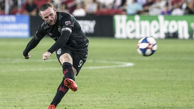 Rooney fait gagner DC United depuis sa moitié de terrain