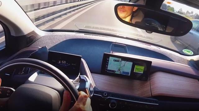 Formel-E-Pilot macht Selbstversuch: Mit dem Elektro-Auto von München zum ePrix
