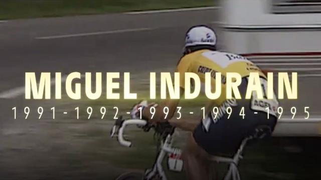 Cien años del maillot del Tour de Francia: Espectacular homenaje con Indurain y Contador