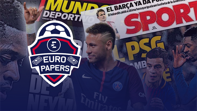 Euro Papers: PSG demand two Barcelona stars in 'Operation Neymar'
