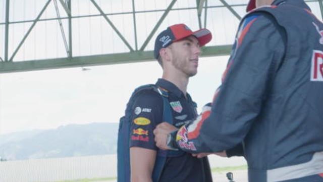 Red Bull - Baptême de l'air pour Gasly