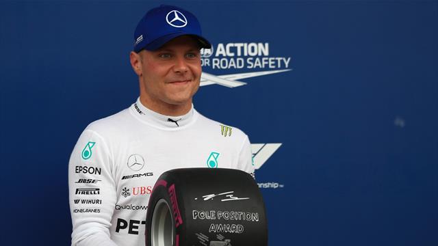 Hamilton record, Bottas poleman, Lauda esseulé : les chiffres à connaître sur Spielberg