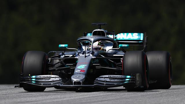 Libres 1 : Hamilton juste devant Vettel et Bottas