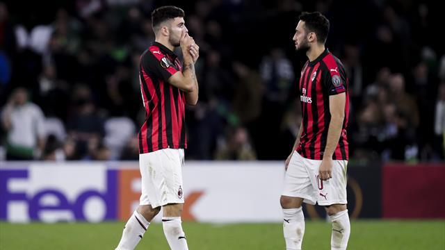 Milan von Europa League ausgeschlossen