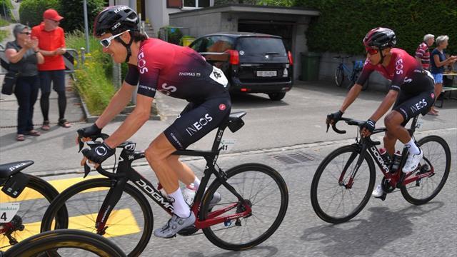 "Thomas et Bernal ""co-leaders"" du Team Ineos"