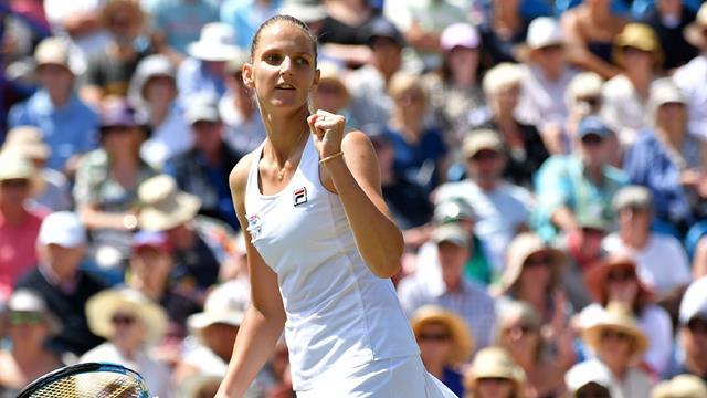 Pliskova sets up Eastbourne title clash with Kerber