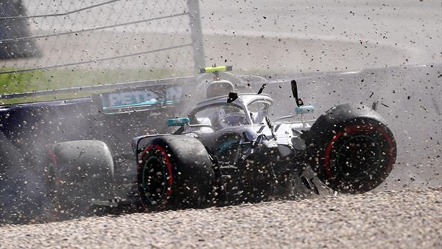 Austrian GP: Leclerc emerges top as Bottas and Verstappen crash in P2