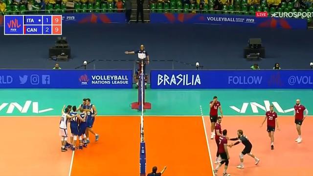 Che parallela di Pinali! L'Italia resta in piedi contro il Canada