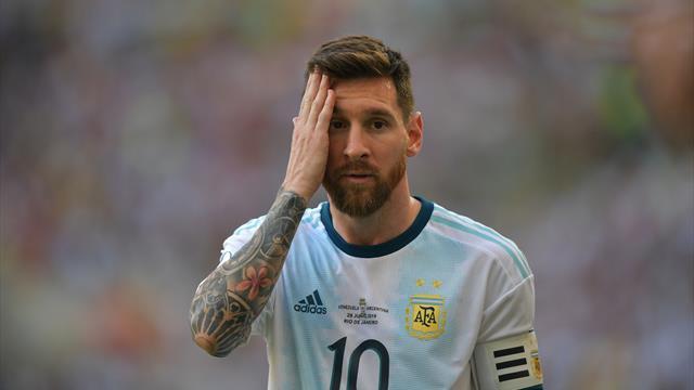 "Messi : ""Ce n'est pas ma meilleure Copa America"""