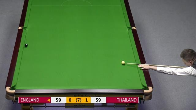 'Incredible!' - Wilson slots superb double on deciding black