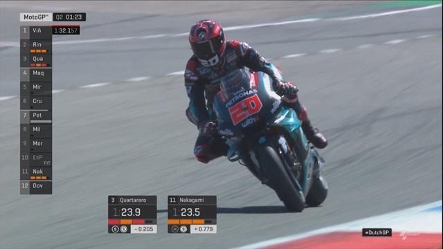 MotoGP   Sensationele Quartararo in megatijd naar pole