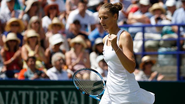 'She's the one to beat at Wimbledon!' - Pliskova beats Kerber