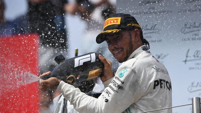 In der Form seines Lebens: Ist Hamilton so gut wie Schumacher?