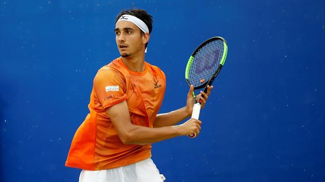 Italy's Sonego downs Kecmanovic to win Antalya Open