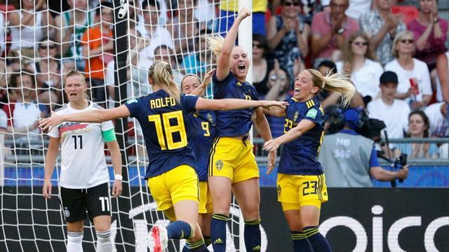 🇸🇪 Suecia da la campanada y se clasifica para las semifinales eliminando a Alemania (1-2)