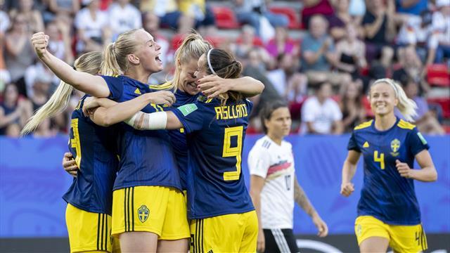 L'Allemagne terrassée par la Suède