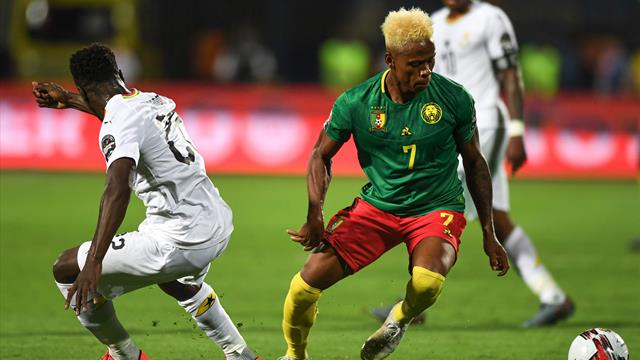 Un petit choc entre le Ghana et le Cameroun