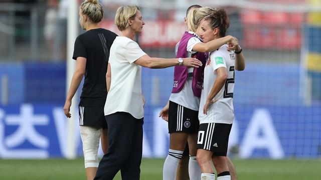 """DFB-Frauen nach WM-Aus untröstlich: """"Nicht zu entschuldigen!"""""""