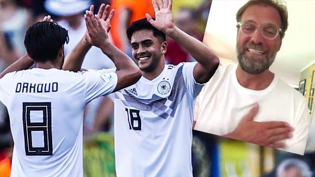 """""""Herz zeigen!"""" Klopp mit emotionaler Motivationsrede für deutsche U21"""