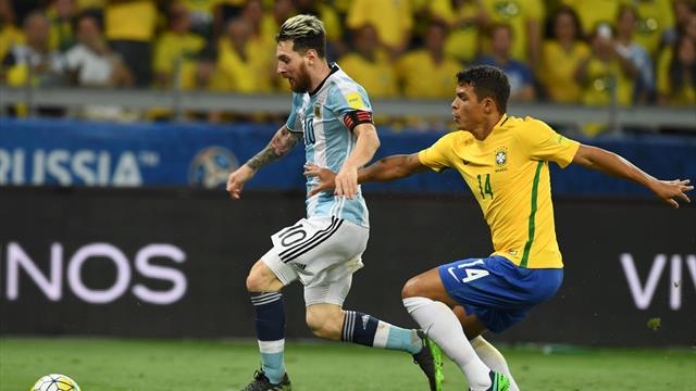 """Thiago Silva : """"Pour moi, Messi est le plus grand joueur de l'histoire"""""""