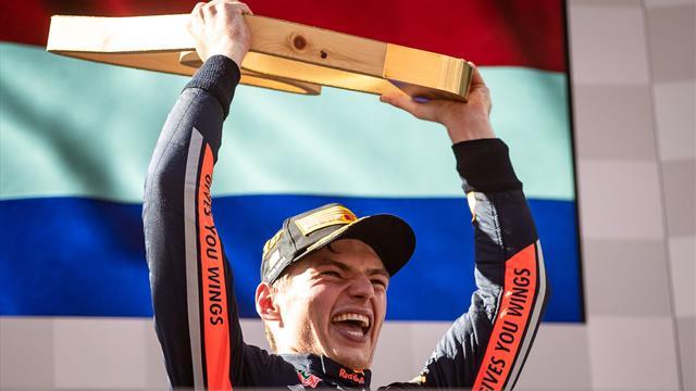 Verstappen fait le show, Leclerc attendra encore