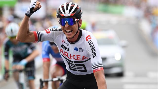 Une course folle et un sprint improbable : Barguil, champion de France du panache