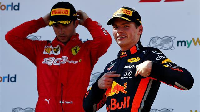 """Verstappen : """"Si on pénalise ça, je ne vois pas l'intérêt de piloter en Formule 1"""""""