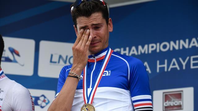 Arkea-Samsic derrière son champion de France