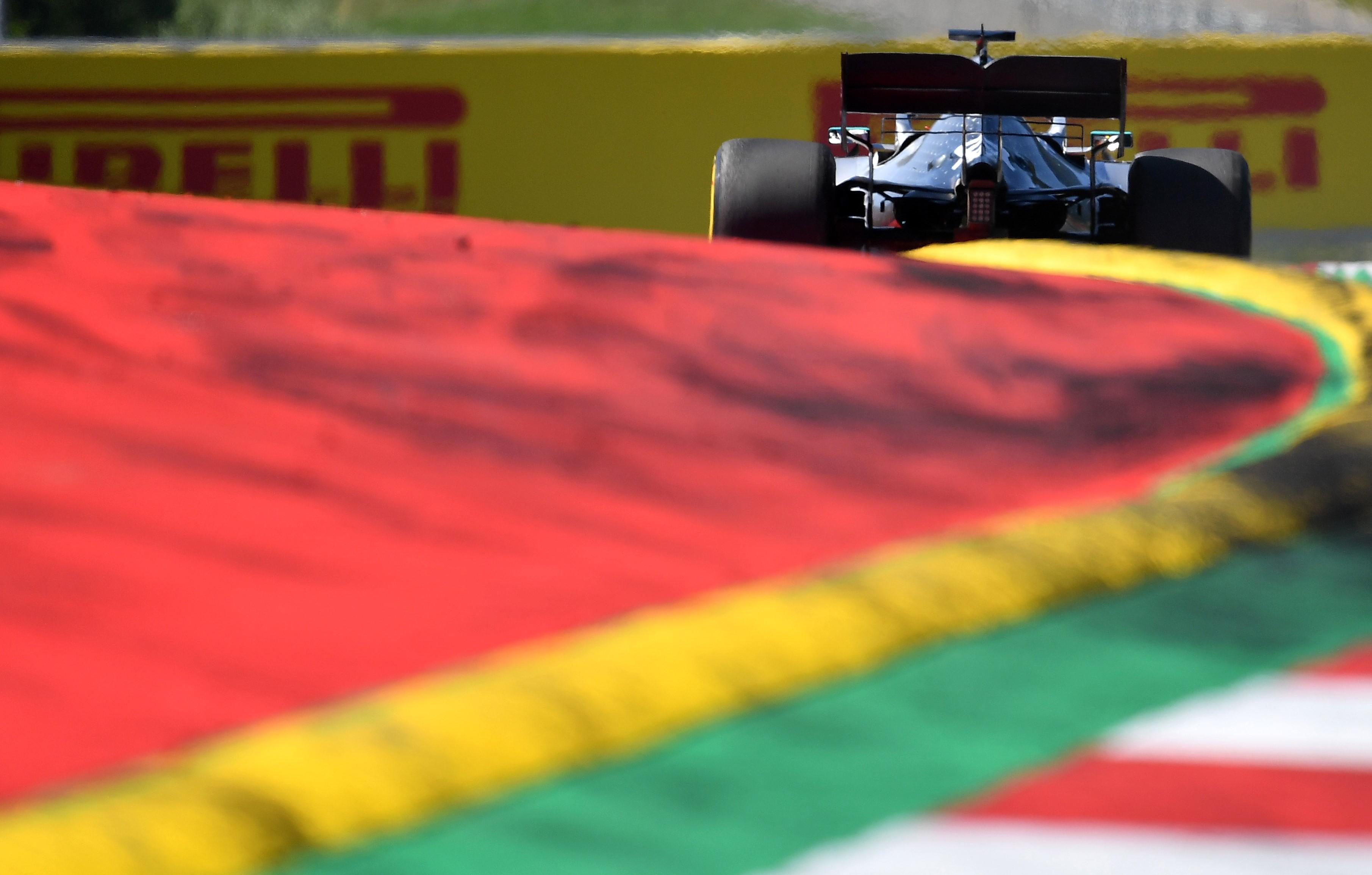 Lewis Hamilton (Mercedes) au Grand Prix d'Autriche 2019