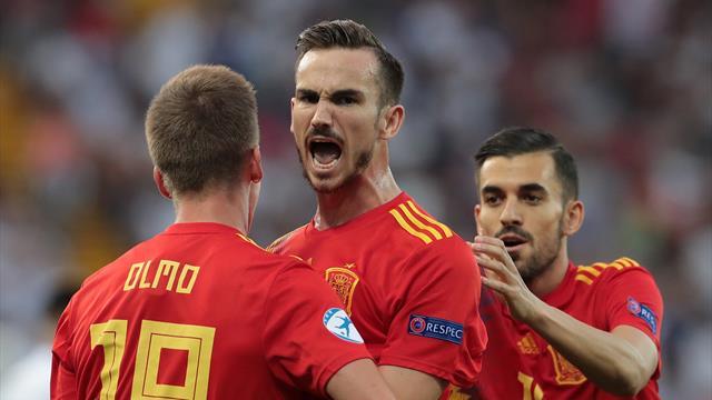 Under 21, la Spagna ringrazia Fabian Ruiz e trionfa