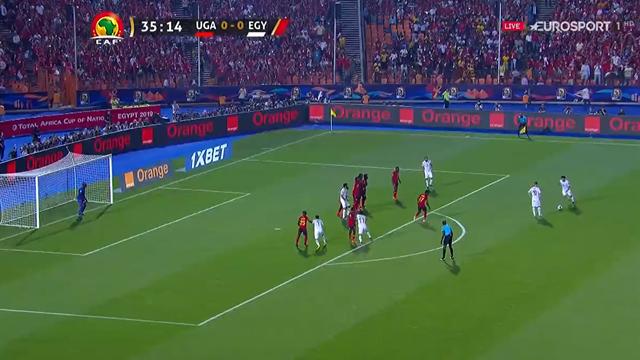 WATCH - Mo Salah bends in fantastic free-kick