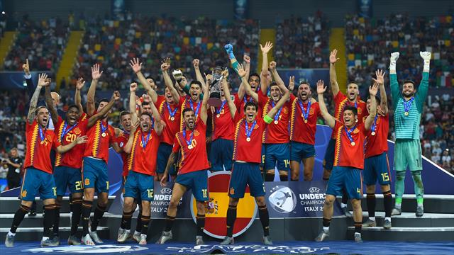 Avec cinq titres, l'Espagne rejoint l'Italie et valide sa domination