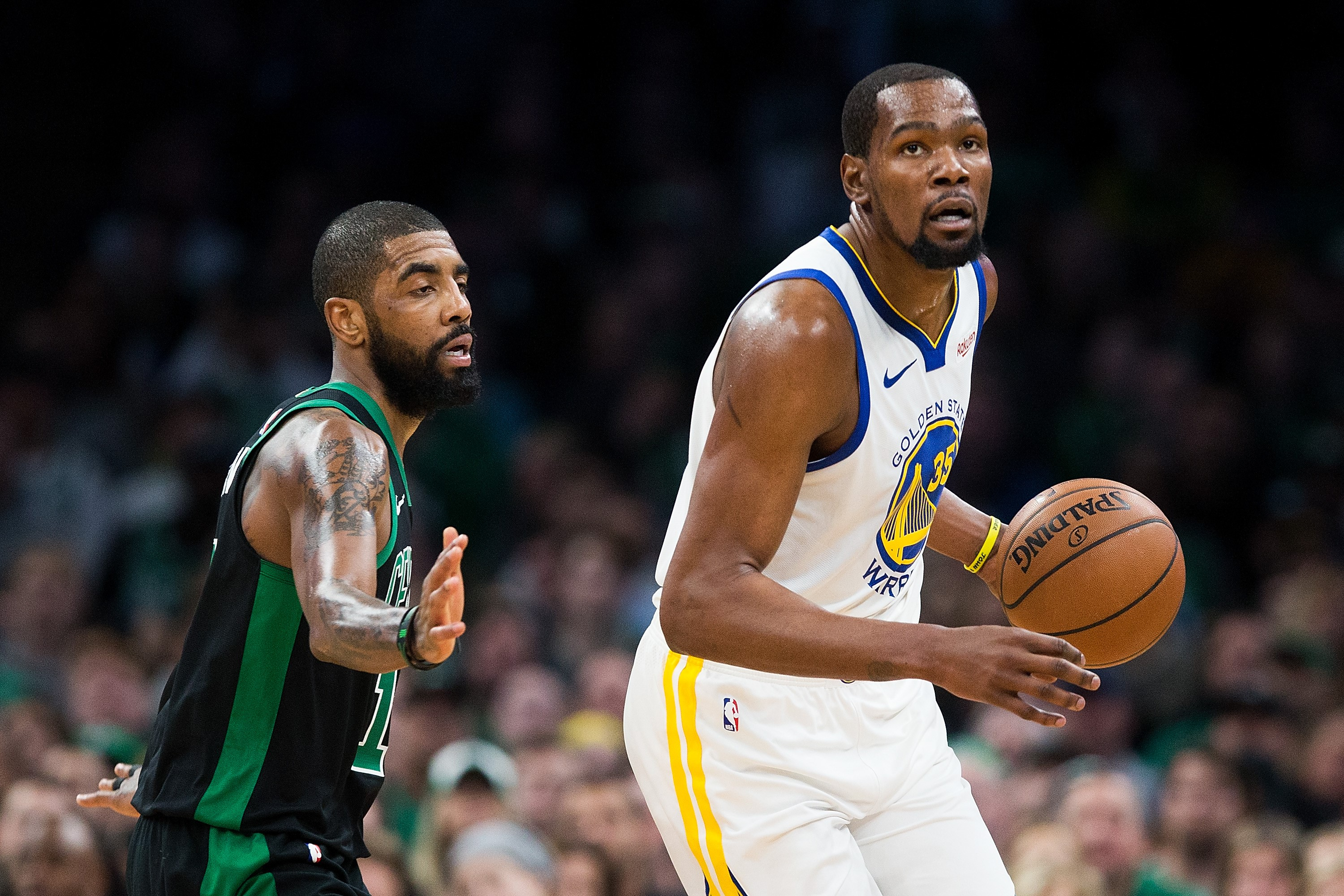 Kyrie Irving ve Kevin Durant