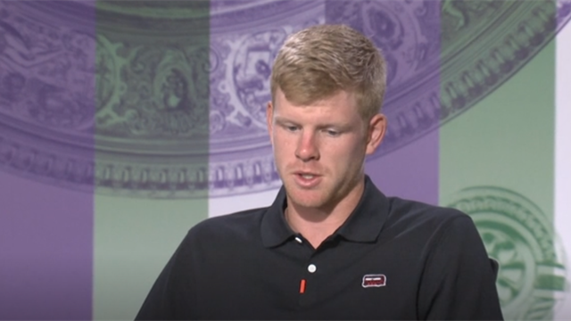 Kyle Edmund: Having Andy Murray back is obviously great